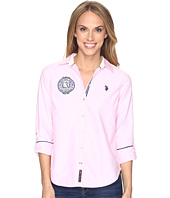 U.S. POLO ASSN. - Solid Oxford Woven Shirt