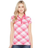 U.S. POLO ASSN. - Plaid Pique Polo Shirt