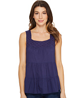 U.S. POLO ASSN. - Tiered Cambric and Eyelet Tank Top