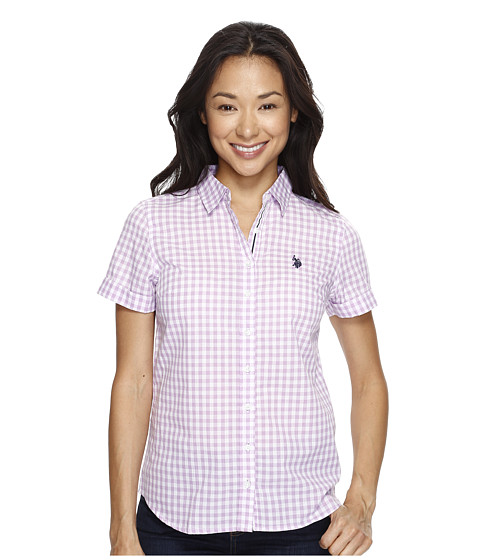 U.S. POLO ASSN. Short Sleeve Woven Shirt