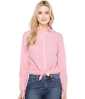 U.S. POLO ASSN. - Long Sleeve Gingham Woven Shirt