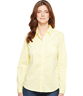 U.S. POLO ASSN. - Stretch Poplin Dot Print Woven Shirt