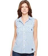 U.S. POLO ASSN. - Sleeveless Gingham Blouse
