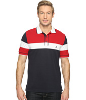 Nautica - Short Sleeve Color Blocked Polo