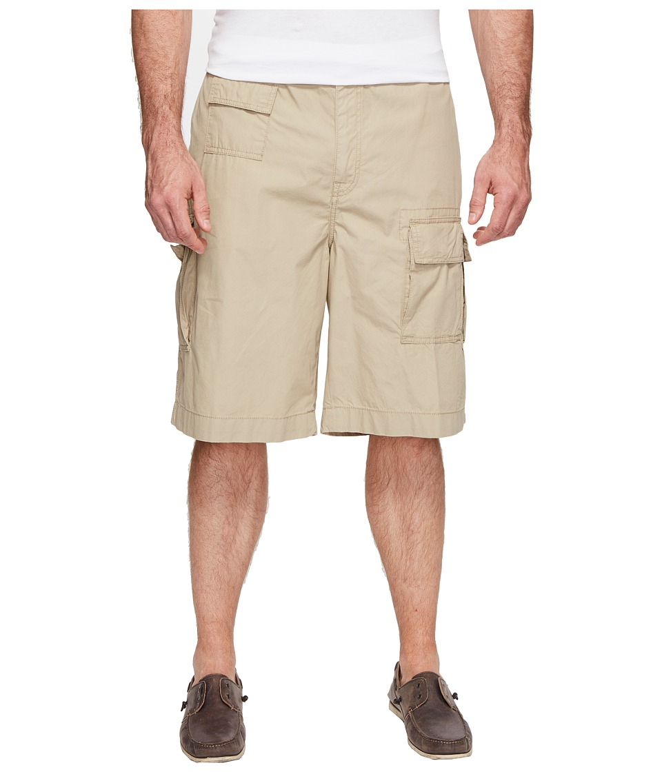 Nautica Big & Tall Big Tall Navagator Cargo Shorts (Beach Sand) Men