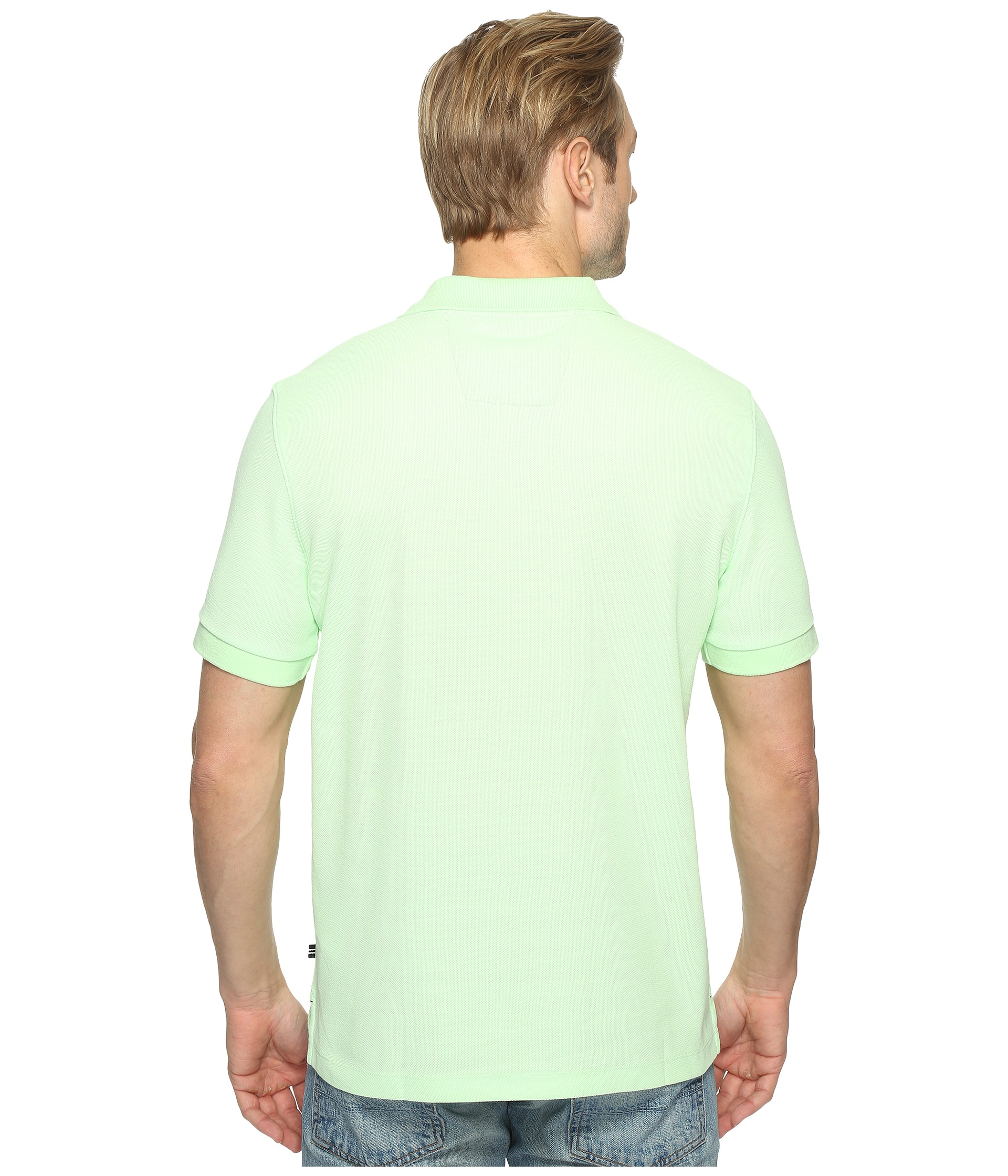 Nautica short sleeve solid deck shirt free for Nautica shirts on sale