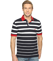 Nautica - Short Sleeve Gradient Stripe Polo