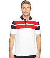 Nautica - Short Sleeve Yarn-Dyed Block Polo