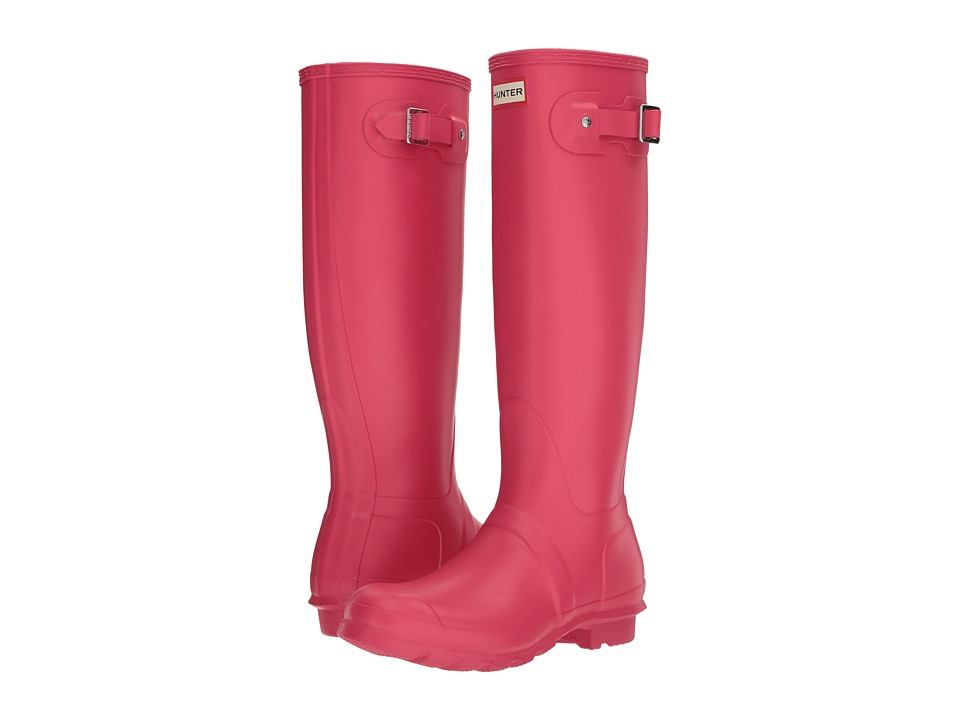 Hunter Original Tall Rain Boots (Bright Pink) Women