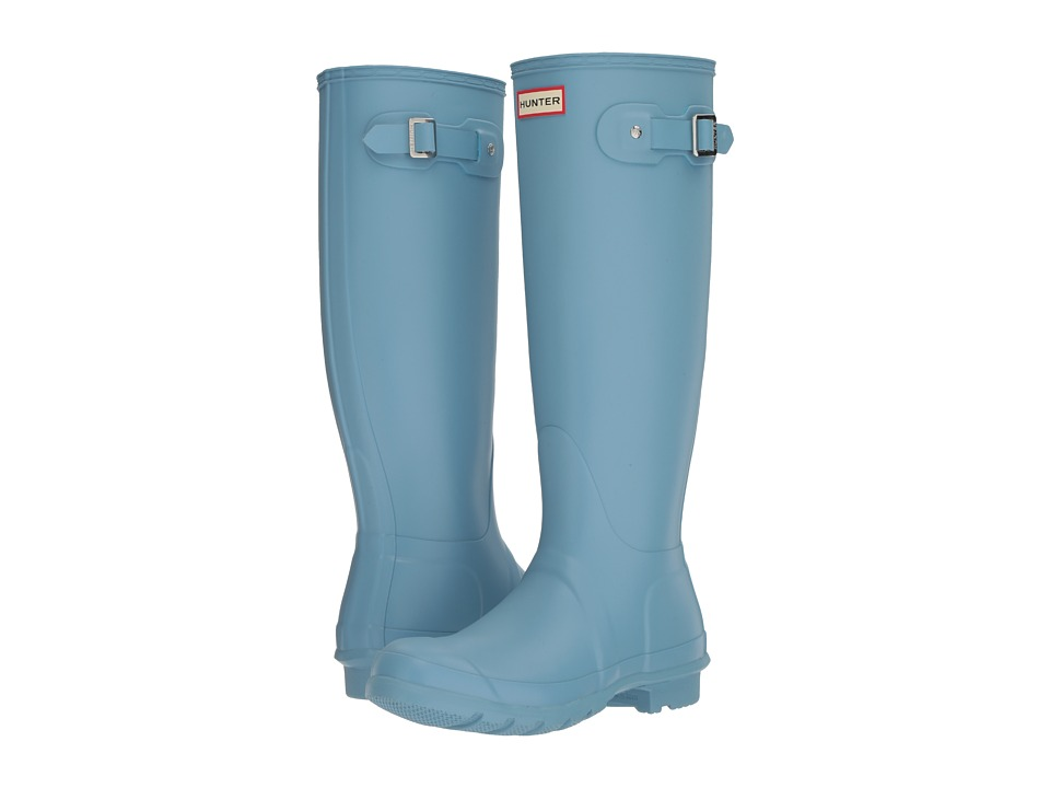 Hunter Original Tall Rain Boots (Pale Blue) Women