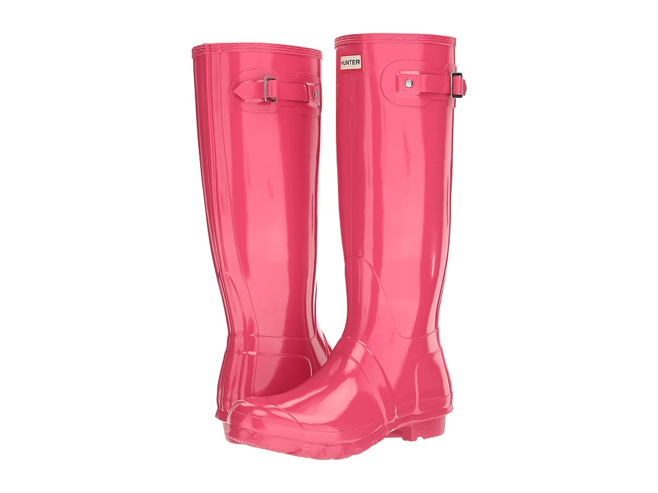 Hunter Original Tall Gloss (Bright Pink) Women