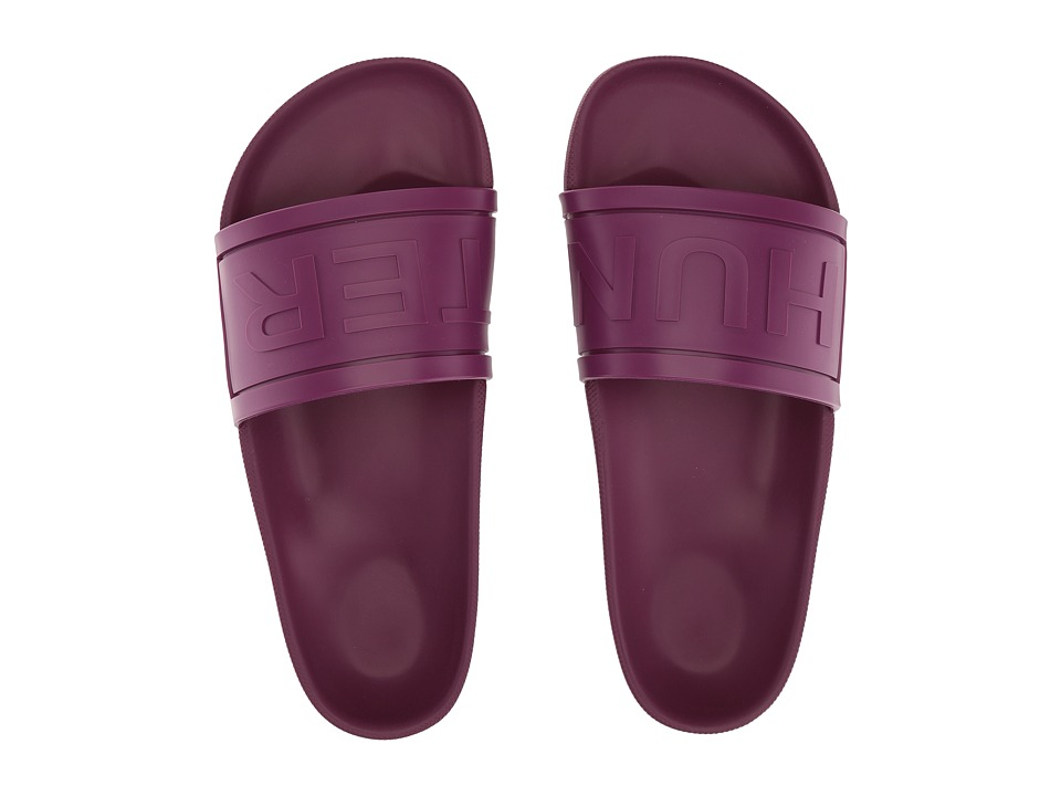Hunter Original Hunter Slide (Bright Violet) Women