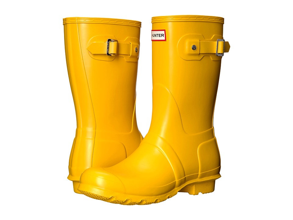 Hunter Original Short Rain Boots (Yellow 1) Women