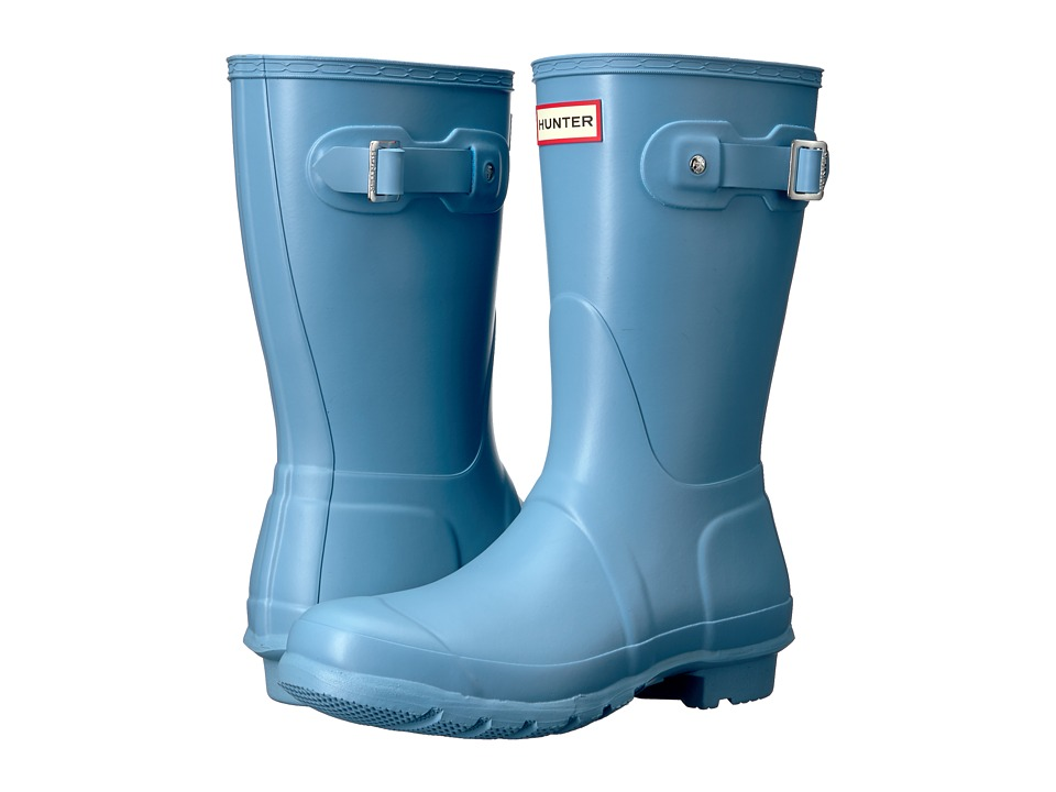 Hunter Original Short Rain Boots (Pale Blue) Women