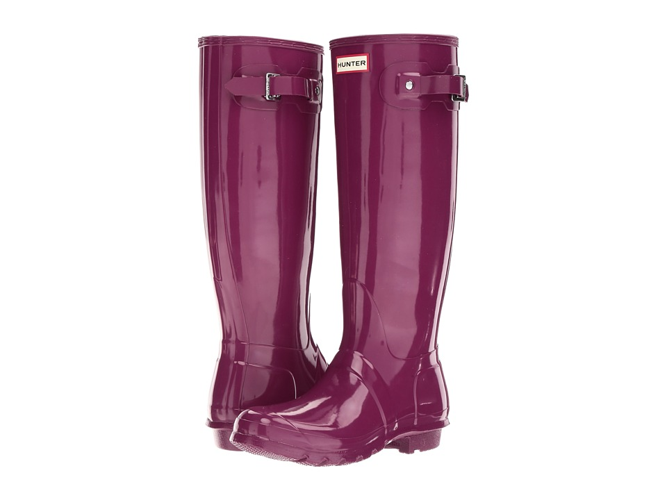 Hunter Original Tall Gloss (Violet) Women
