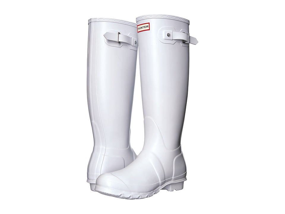 Hunter Original Tall Rain Boots (White) Women