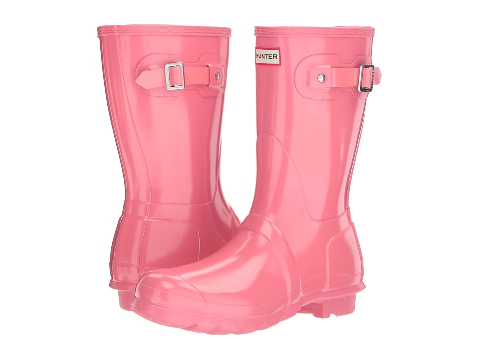 Hunter Original Short Gloss Rain Boots (Pink) Women