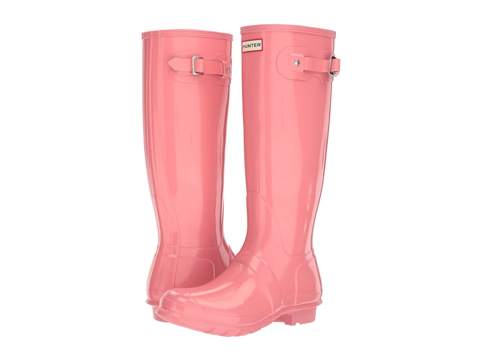 Hunter Original Tall Gloss (Pink) Women