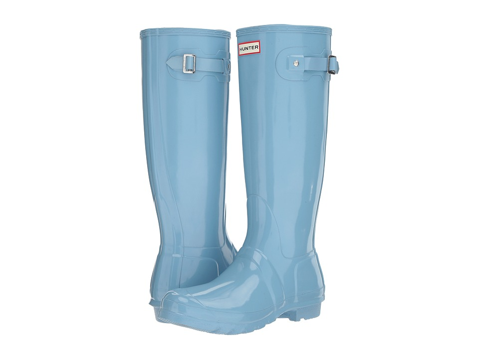 Hunter Original Tall Gloss (Pale Blue) Women