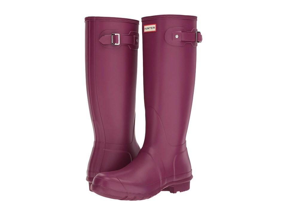 Hunter Original Tall Rain Boots (Violet) Women