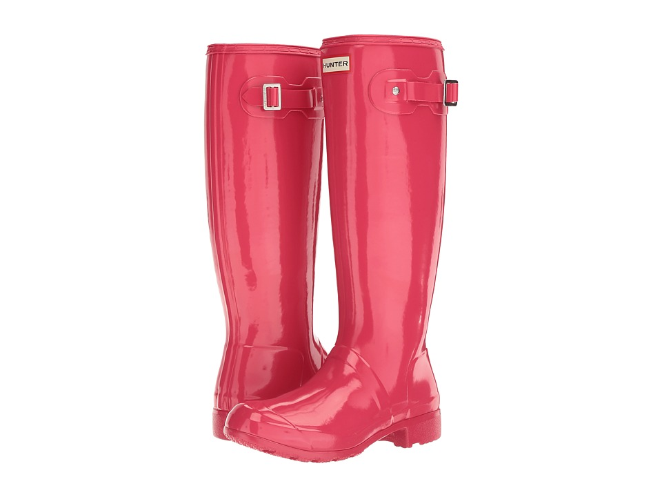 Hunter Original Tour Gloss (Mosse Pink) Women