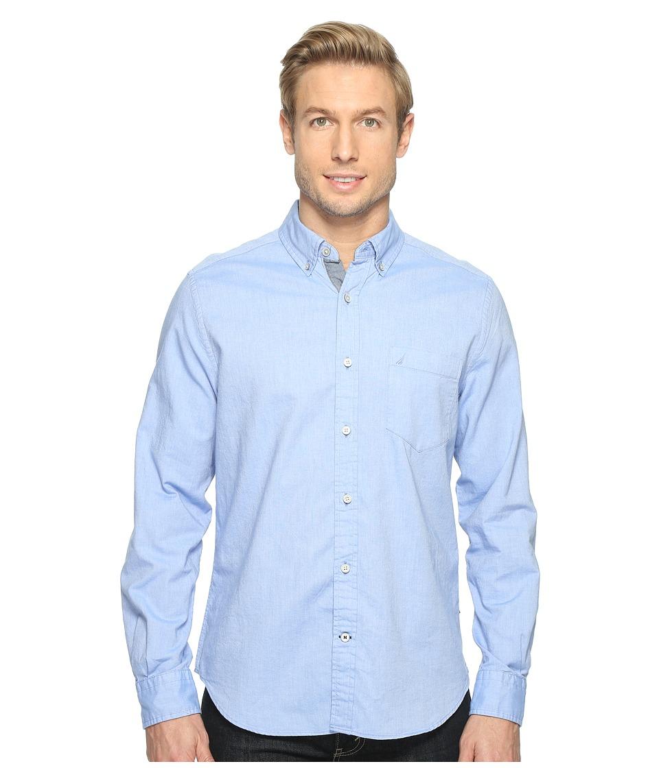 Nautica - Solid Oxford L/S Woven Shirt
