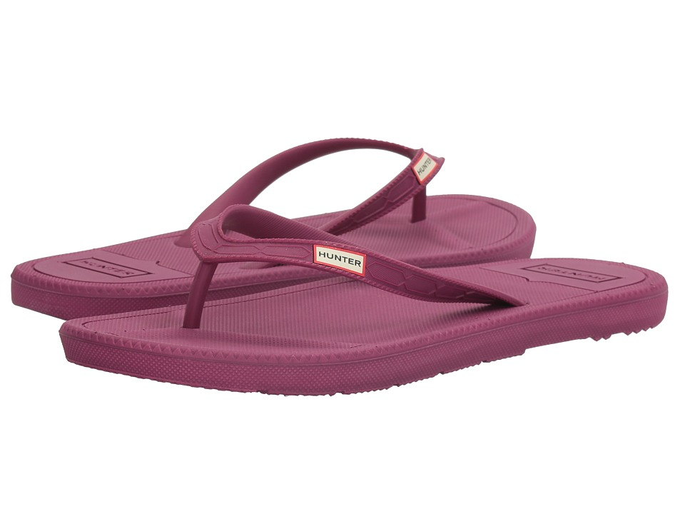 Hunter Original Flip-Flop (Bright Violet) Women