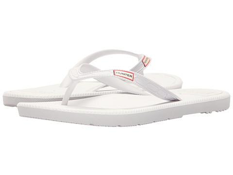 Hunter Original Flip-Flop - White