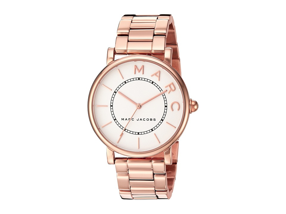 Marc Jacobs Classic - MJ3523 (Rose Gold/White) Watches