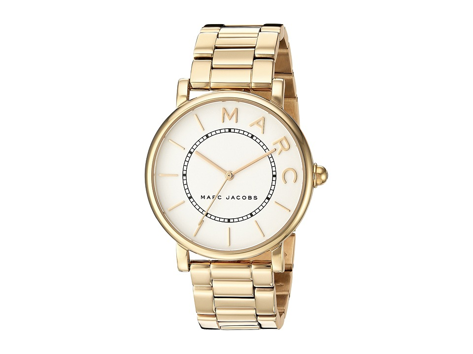Marc Jacobs Classic - MJ3522 (Gold/White) Watches
