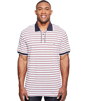 Nautica Big & Tall - Big & Tall Short Sleeve Multi Stripe Polo