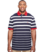 Nautica Big & Tall - Big & Tall Short Sleeve Gradient Stripe Polo