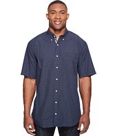 Nautica Big & Tall - Big & Tall Short Sleeve Check Shirt