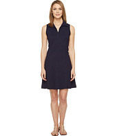 Three Dots - Sleeveless Polo Dress