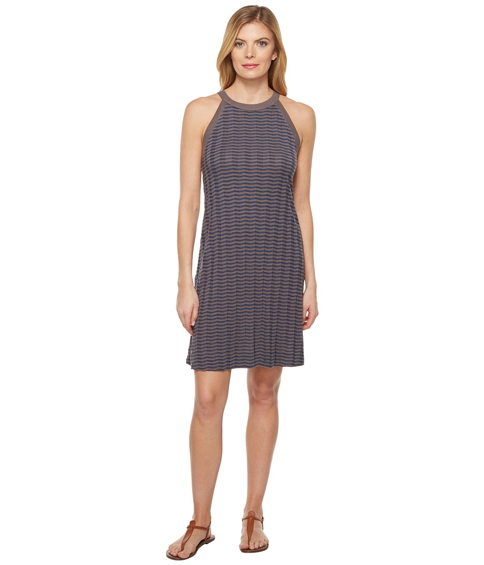 Three Dots A-Line Dress (Slate Grey) Women