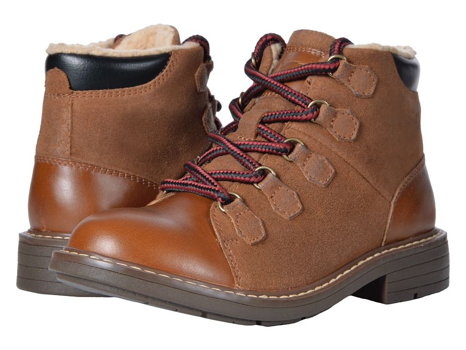 Florsheim Kids Studio Alpine Boot, Jr. (Toddler/Little Kid/Big Kid) (Cognac) Boys Shoes