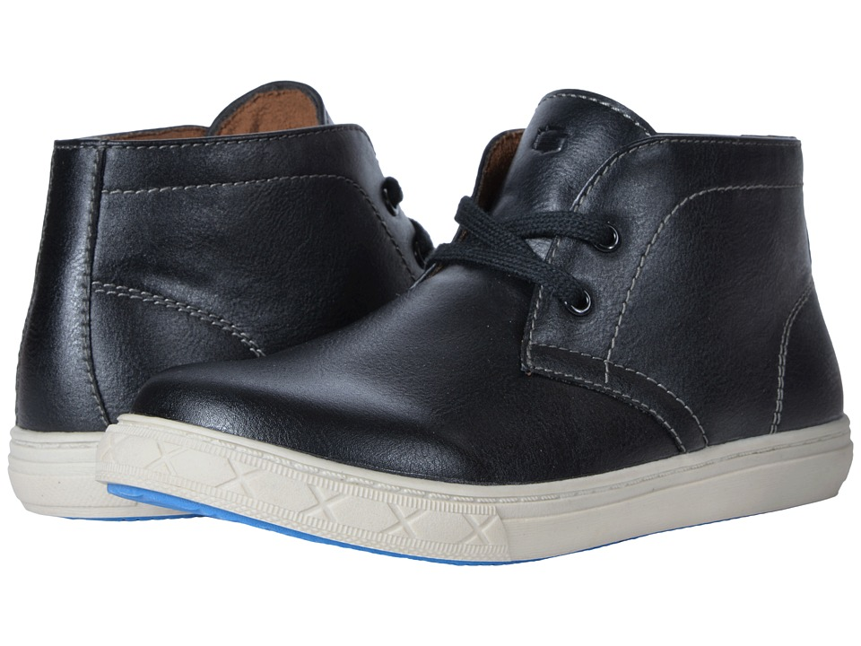 Florsheim Kids Curb Chukka Boot, Jr. (Toddler/Little Kid/Big Kid) (Black) Boys Shoes