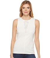 Three Dots - Lace Sleeveless Top