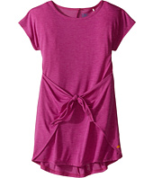 C&C California Kids - Poly Viscose Tie Front Tee Dress (Little Kids/Big Kids)