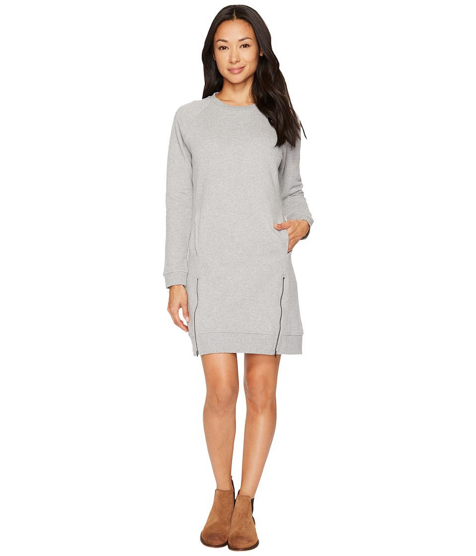 United By Blue Lundy Fleece Dress (Heather Grey) Women