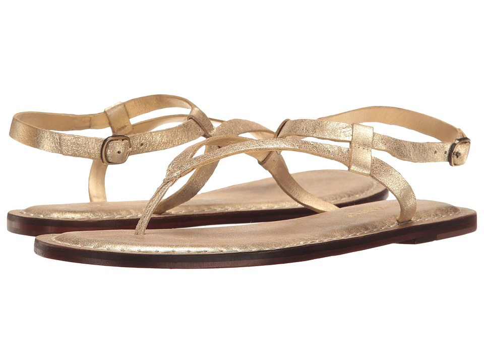 Bernardo Merit (Gold Metallic Suede) Women