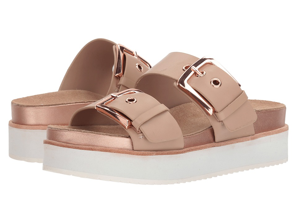 Steve Madden Pate (Natural Leather) Women