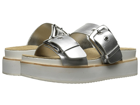 Steve Madden Pate - Silver Leather