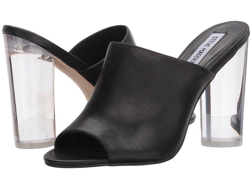 Steve Madden Classics (Black Leather) Women