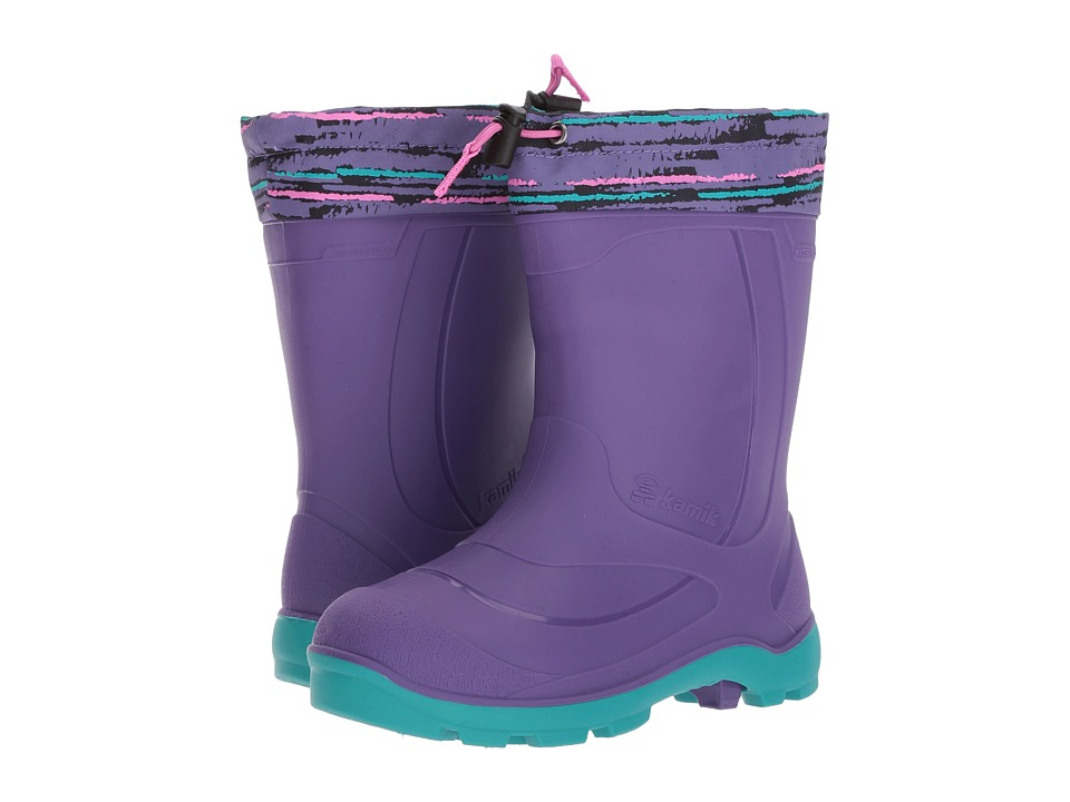 Kamik Kids - Snobuster2 (Toddler/Little Kid/Big Kid) (Purple) Girls Shoes