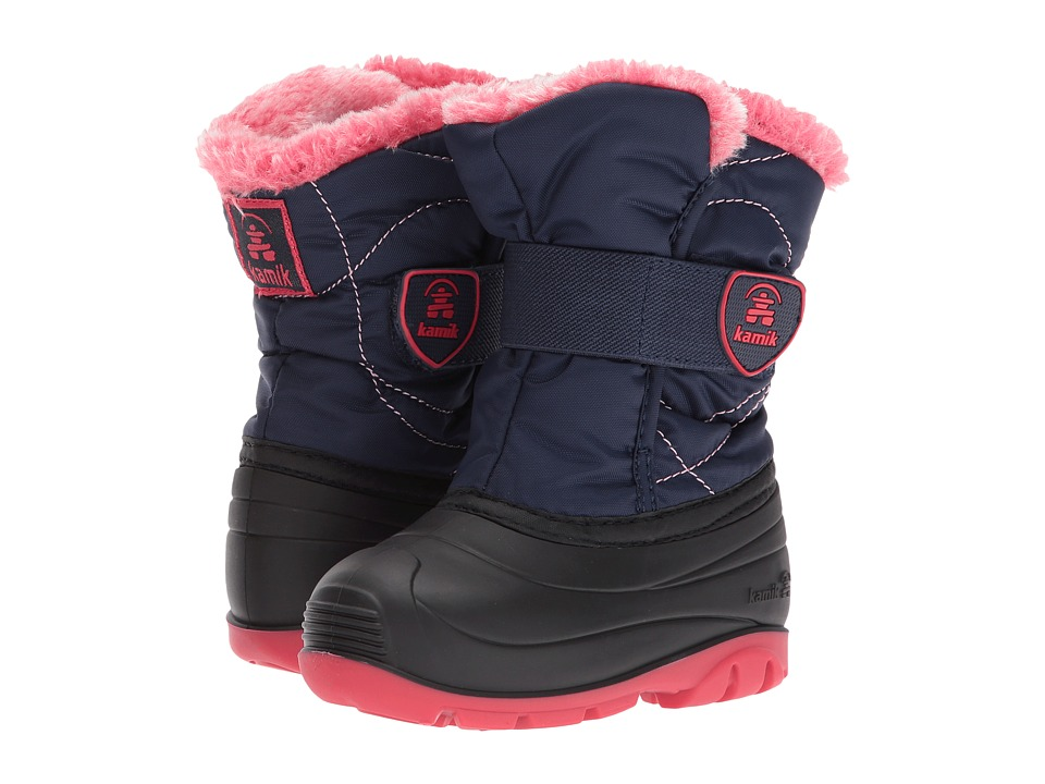 Kamik Kids Snowbugf (Toddler) (Navy) Girl's Shoes