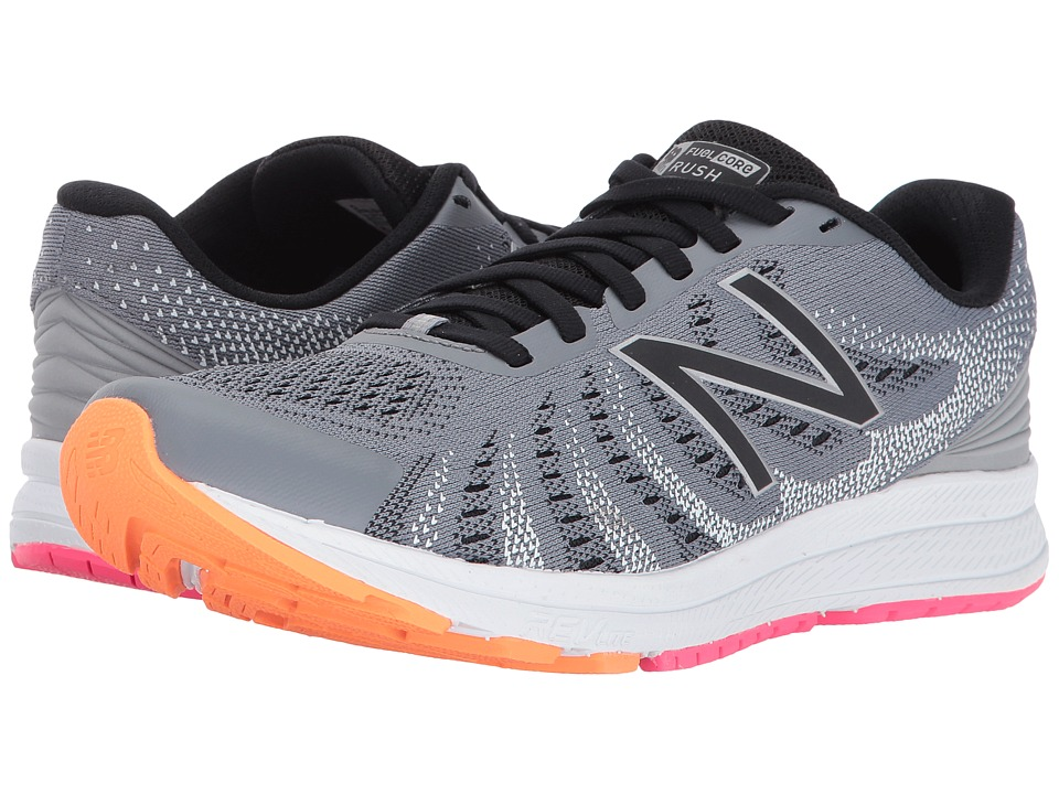 New Balance Rush V3 (Steel/Black/Vivid Tangerine/Alpha Pink) Women's Running Shoes