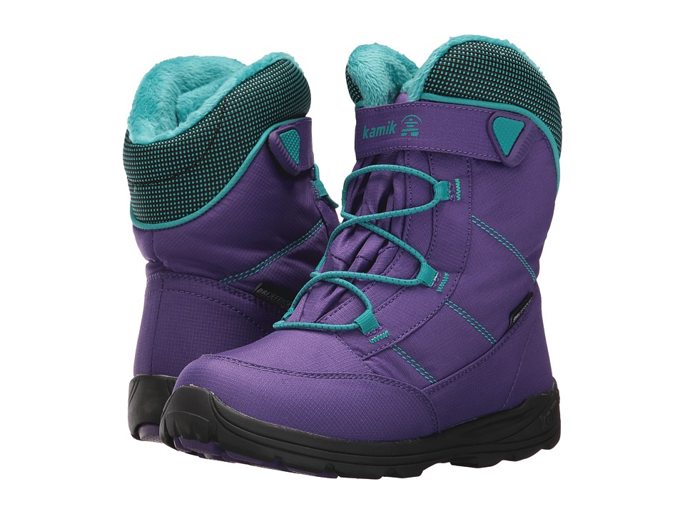 Kamik Kids Stance (Little Kid/Big Kid) (Purple/Teal) Girl's Shoes