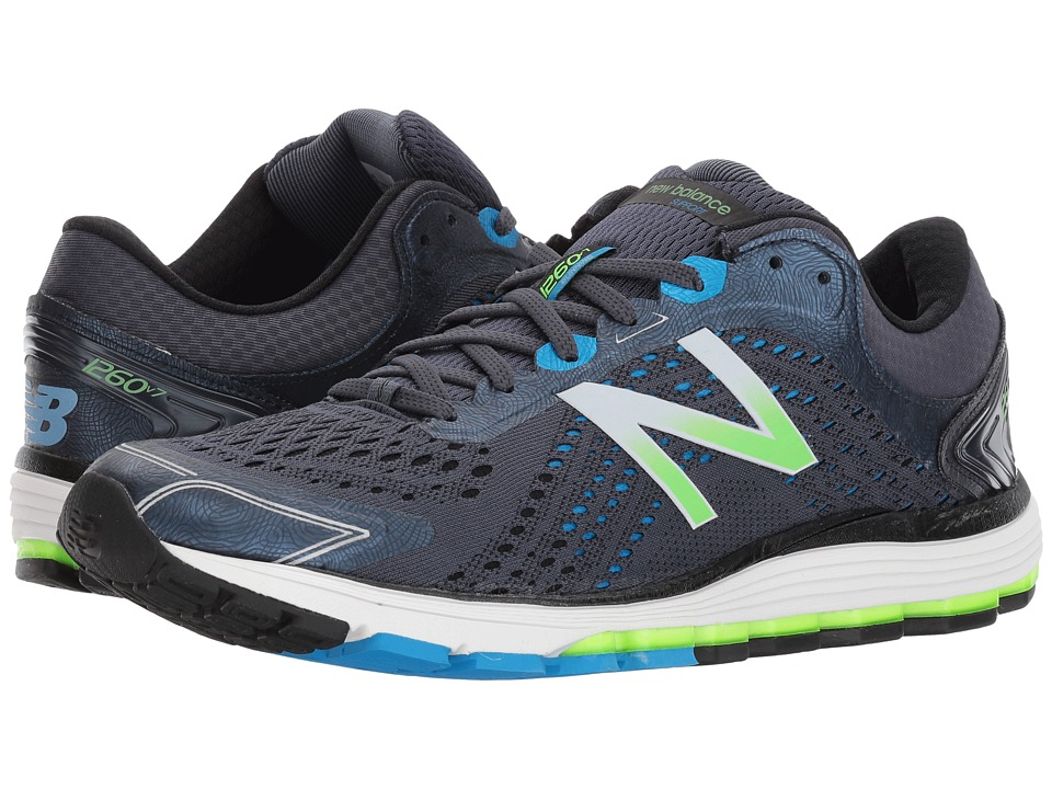 New Balance 1260 V7 (Thunder/Black) Men's Running Shoes