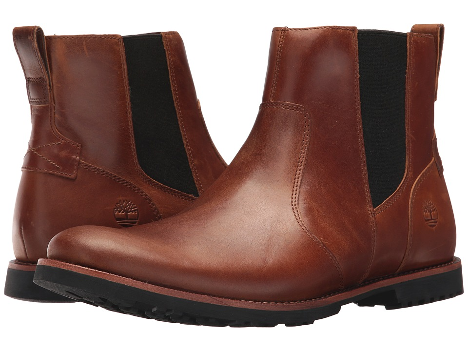 Timberland - Kendrick Chelsea (Medium Brown Full Grain) Mens Boots